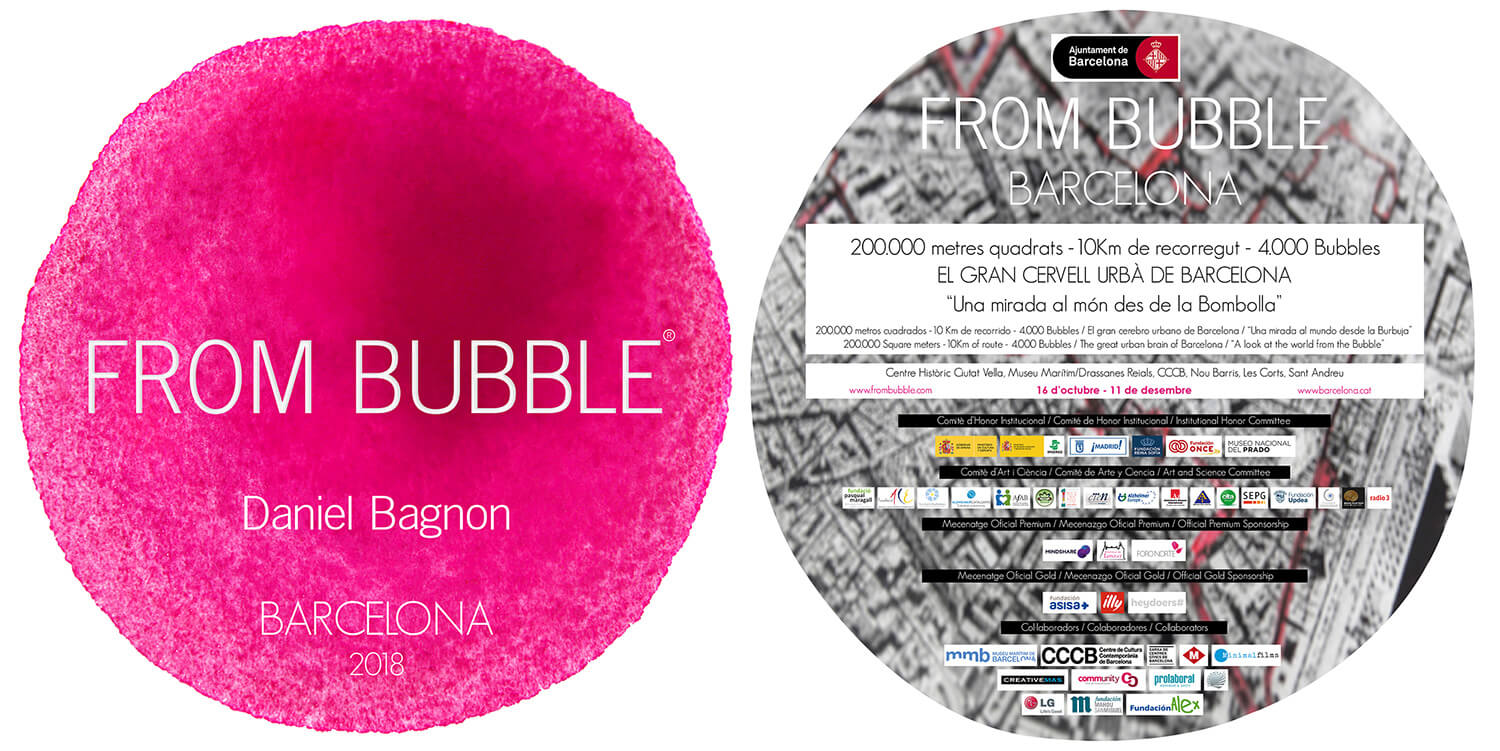 Flyer From Bubble Barcelona