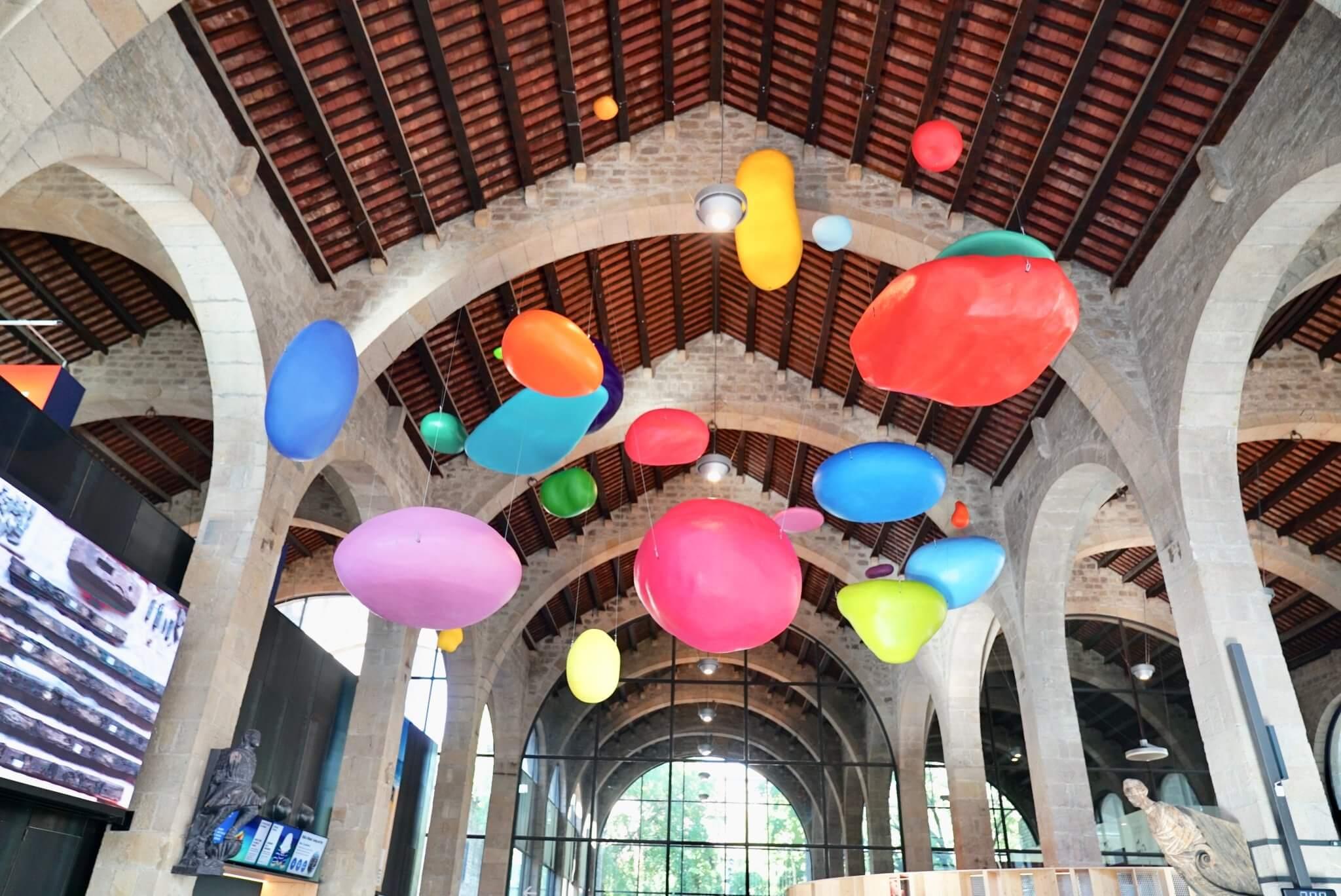 El Cerebro de From Bubble en el Museo Marítimo de Barcelona
